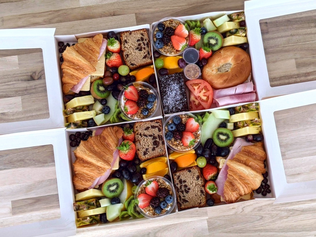 Brunch Boxes with Dairy Free Option