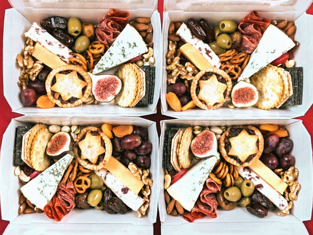 Mini Christmas Grazing Boxes