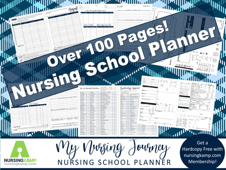 New My Nursing Journey Planner Download Available!