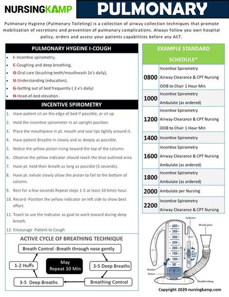 N2N PULMONARY  PAGE 2 NURSING KAMP CLINI