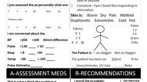 New SBAR Report Sheet for Brainsheet Book
