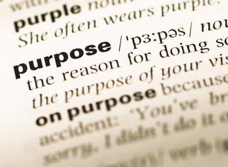 Putting my Purpose into action