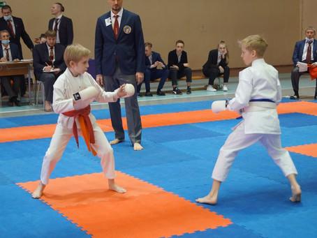 Соревнования среди детей по восточному боевому единоборству в дисциплине СЁТОКАН.