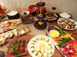 Kitchit cocktail party spread