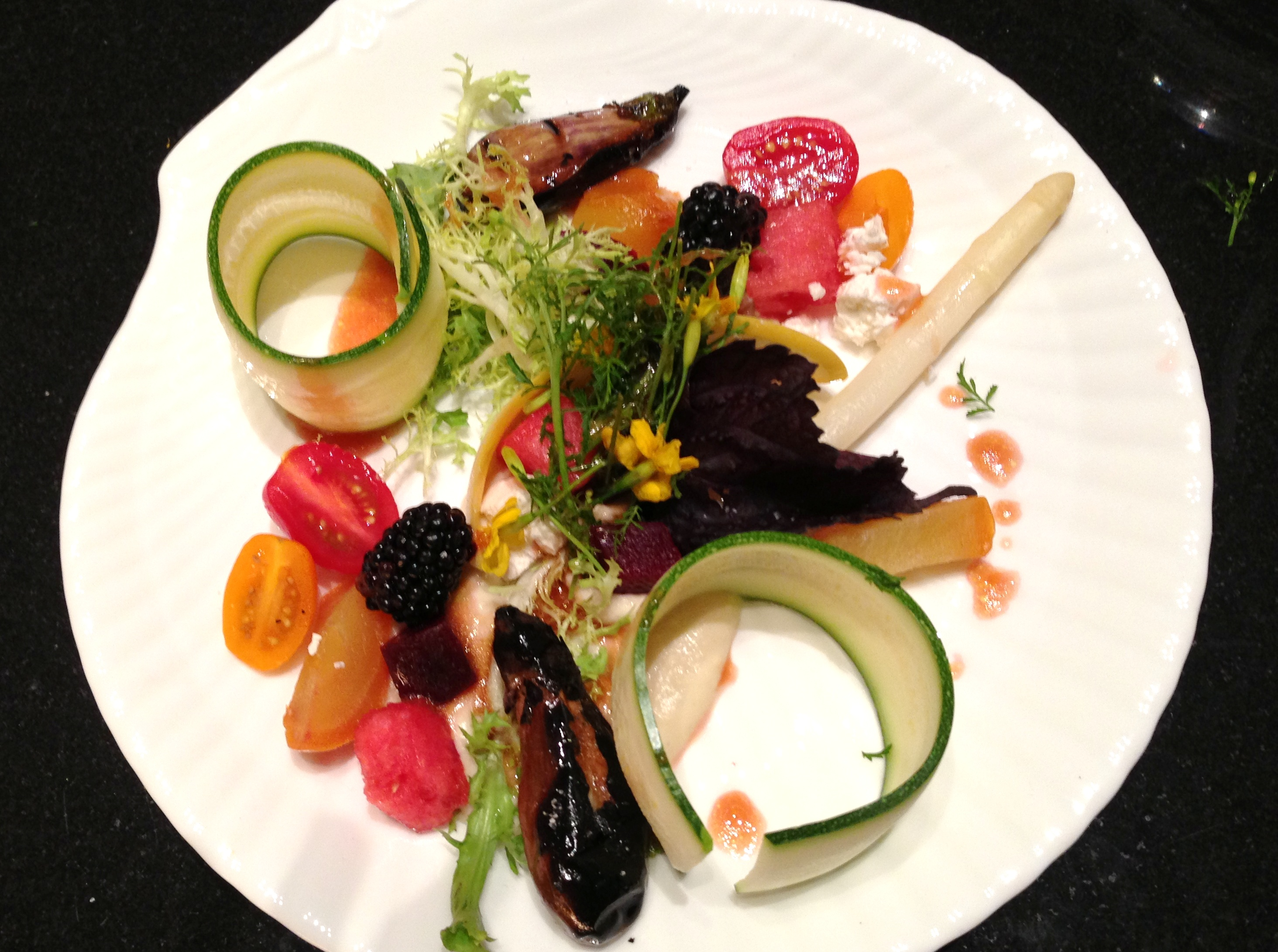 Vegetable and Fruit Composition