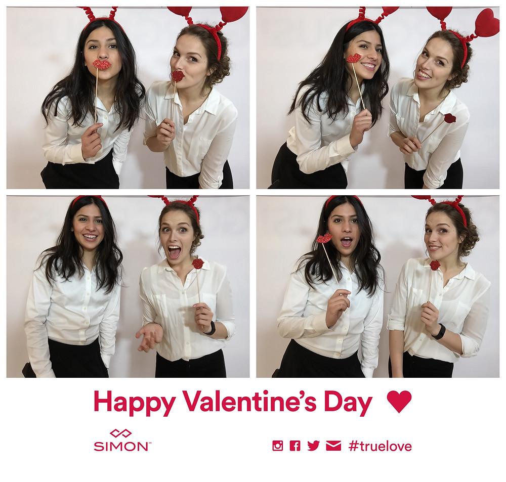 simon mall staff, nationwide photo booth attendants