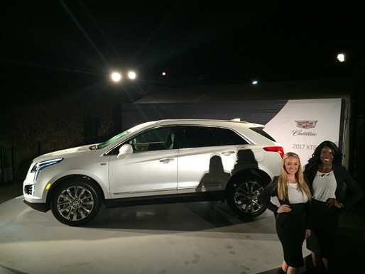 cadillac | xt5 press event