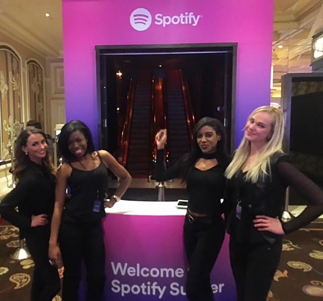 Las Vegas brand ambassadors, ces tradeshow, ces event staff, ces models, attract agency