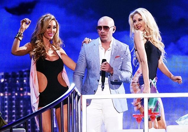 pitbull performance billboard music awards 2015