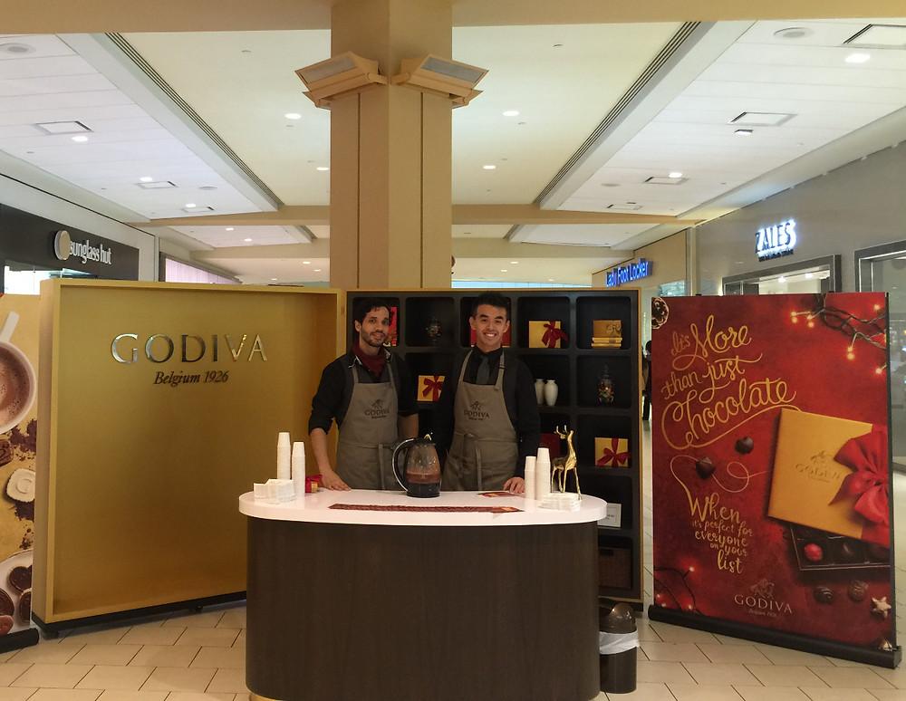 godiva event staff in new york