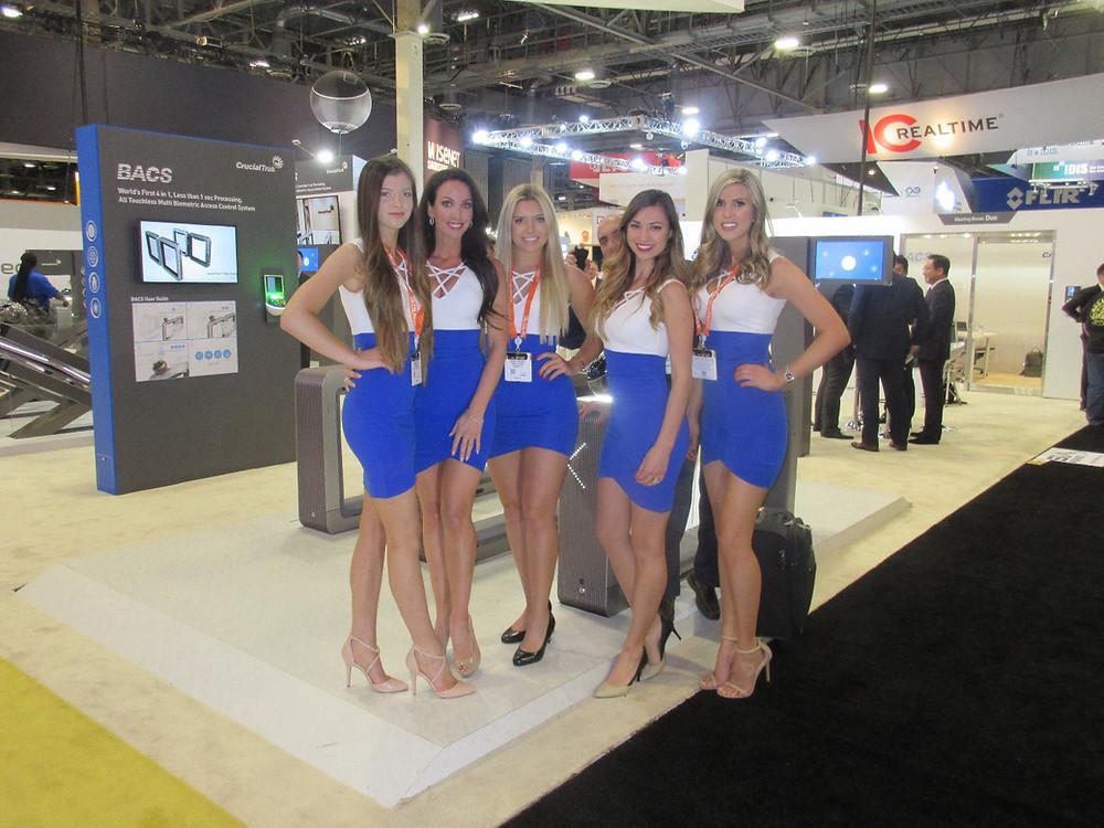 Las Vegas trade show models, Las Vegas convention models, Las Vegas modeling agencies, attract agency