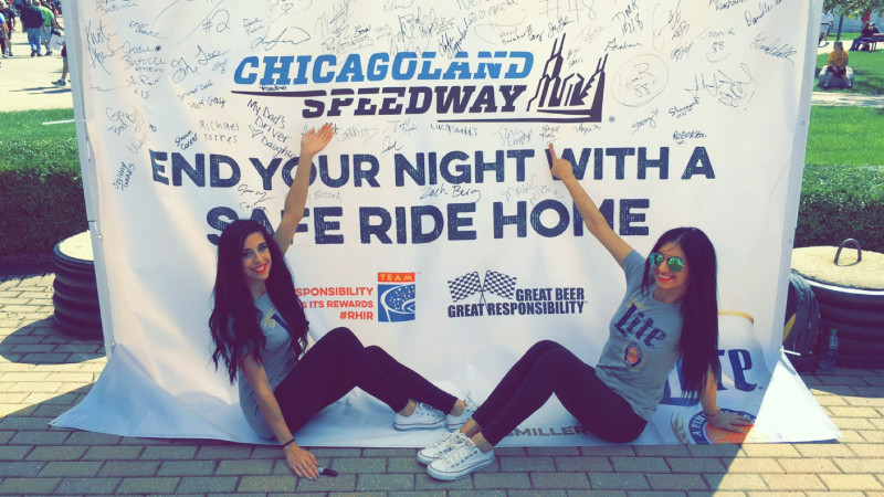 miller lite designated driver promotional models chicagoland attract agency