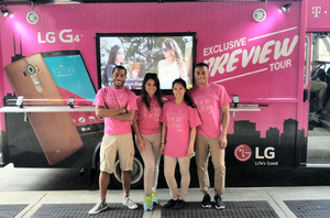t-mobile tour staffing