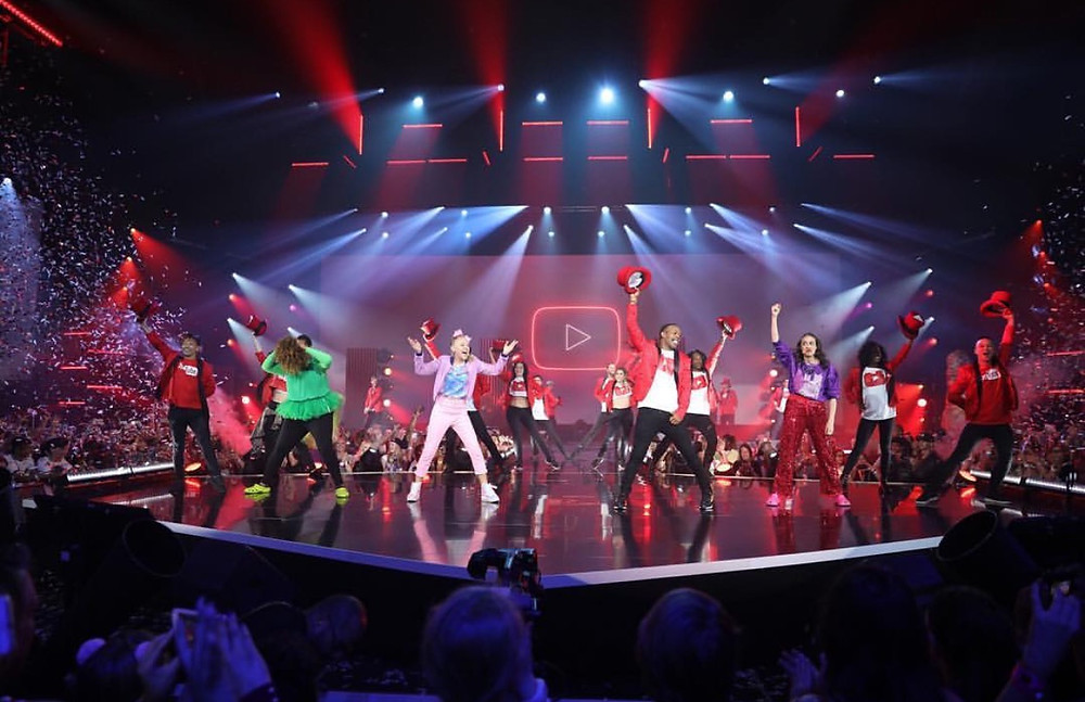 youtube onstage 2017, vidcon 2017, event production, event talent, attract agency