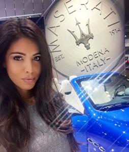 maserati los angeles auto show, attract agency, los angeles auto show models and event staffing