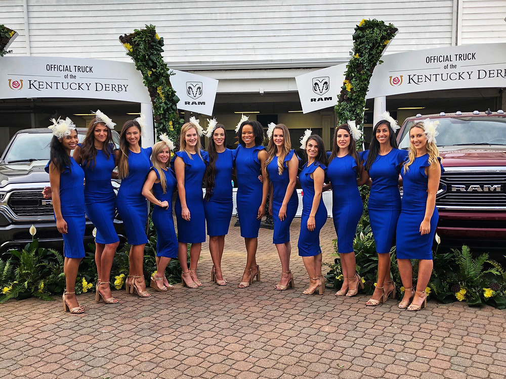 Louisville brand ambassadors, Louisville promotional models, nationwide brand ambassadors, Kentucky derby promotional models, attract agency