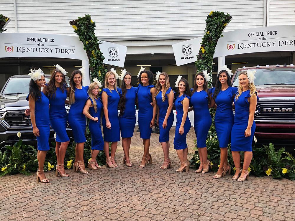 Louisville brand ambassadors, Louisville promotional models, nationwide brand ambassadors, Kentucky derby promotional models, attract agency