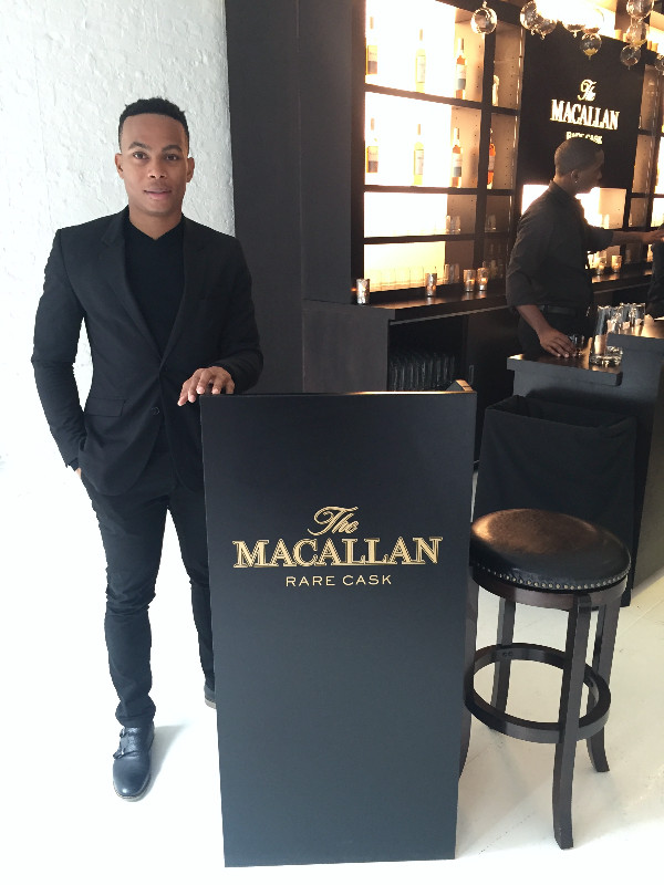the macallan rare cask event host, attract agency