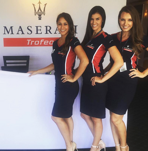 maserati model hostesses