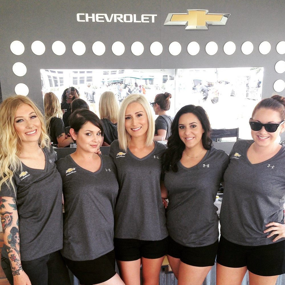nashville hair stylists, nashville make up artists, nationwide event staffing agency