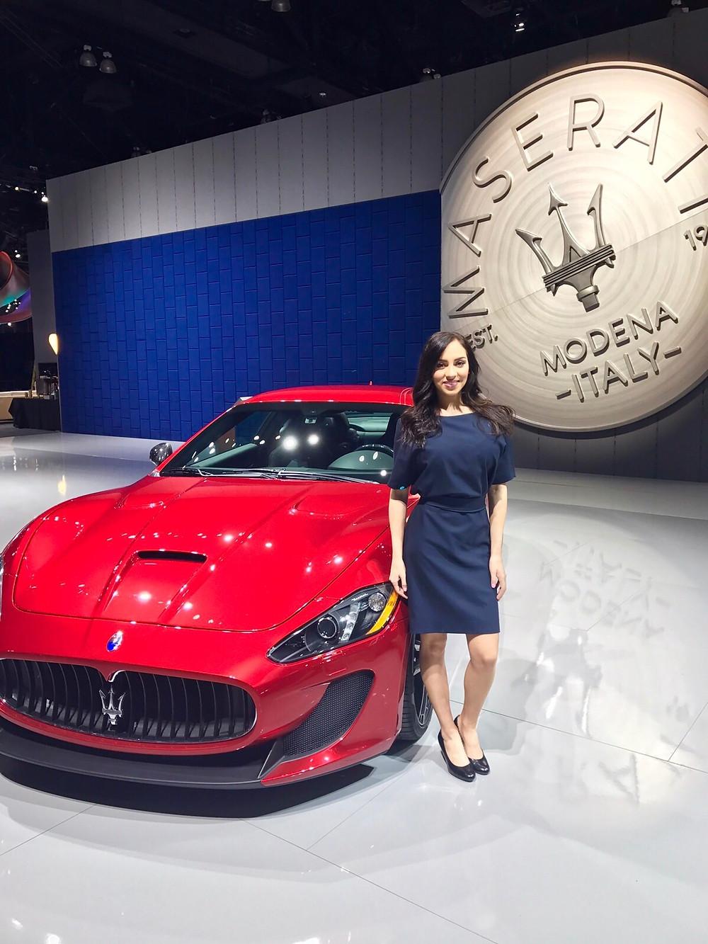 los angeles trade show models, los angeles convention models, la auto show models, attract agency