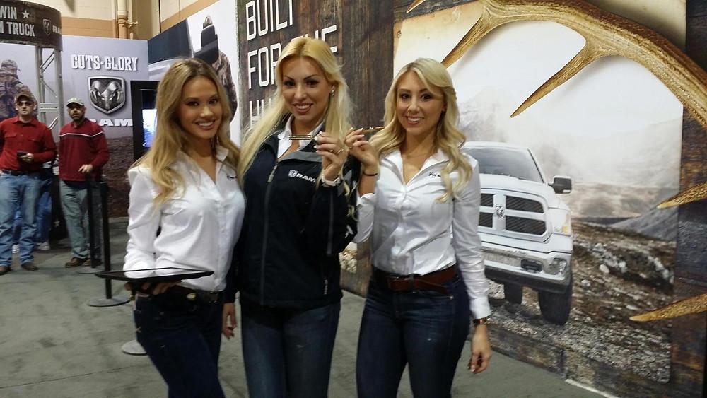 great american outdoor show, ram trucks, pennsylvania models