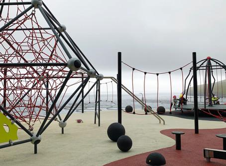 Ny legeplads til Folkeskolen i Giljanes