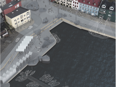 SNA i konkurrence om plan for torv ved havnen i Tórshavn