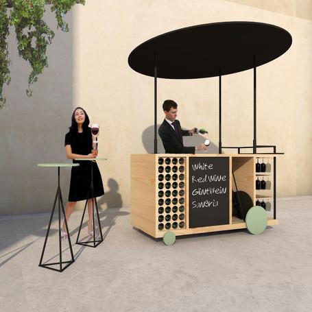 furniture design / mobile winebar