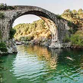 Swim in the quite natural pools and gorges of the Valleys of Cáceres