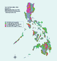 Philippines:  25 earthquakes recorded in the country today, 11th of April 2020