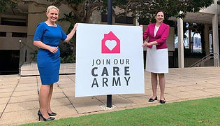 """Australia: """"Care Army"""" deployed to shop and provide company for Seniors"""