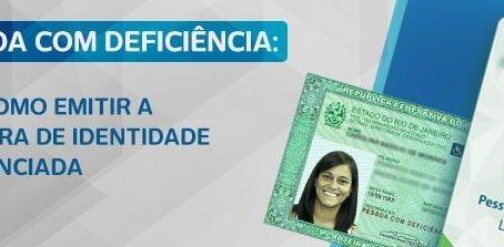 PCD: Veja como emitir a carteira de identidade diferenciada e crachá descritivo