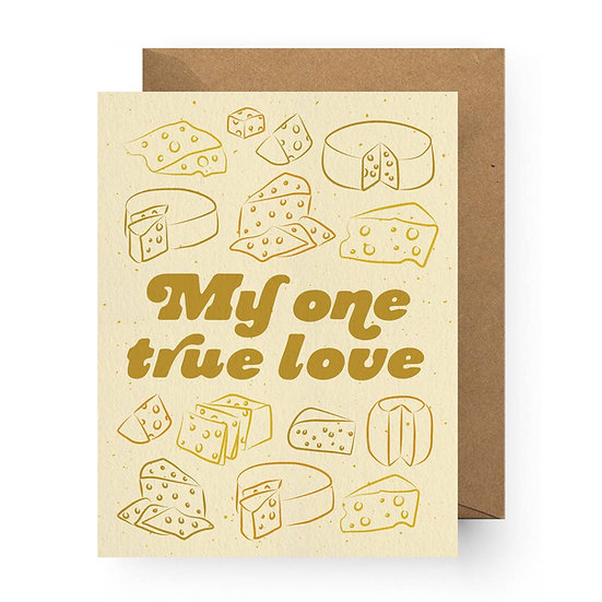 True Love is Cheese Card