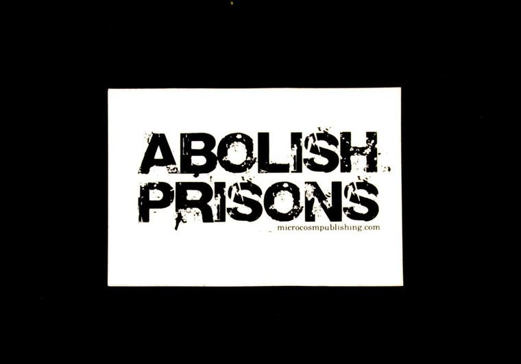 Abolish Prisons sticker