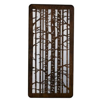 Birch Trees Wall Plaque