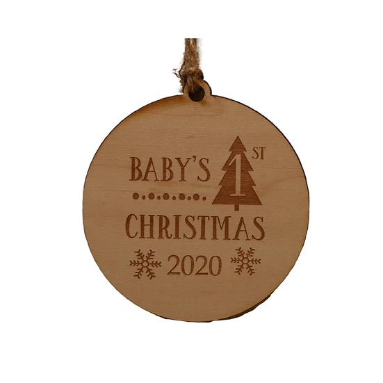 Ornament - Baby's First Christmas 2020