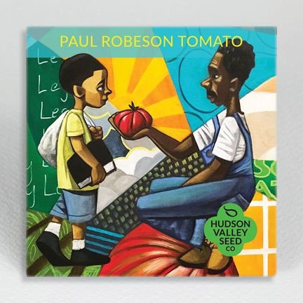 Hudson Valley Seed Co. Paul Robeson Tomato