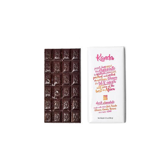 Dark Chocolate - 56% Ghana Cocoa