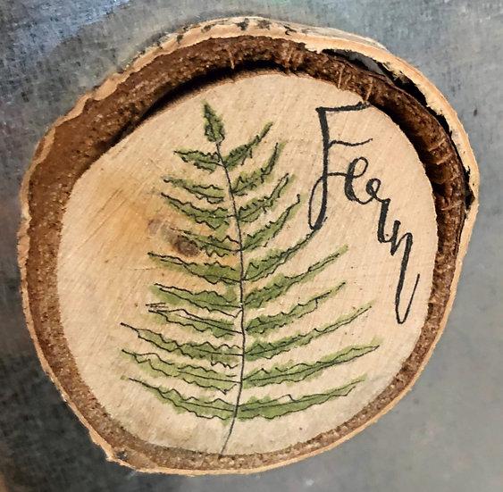 Fern Wood Magnet