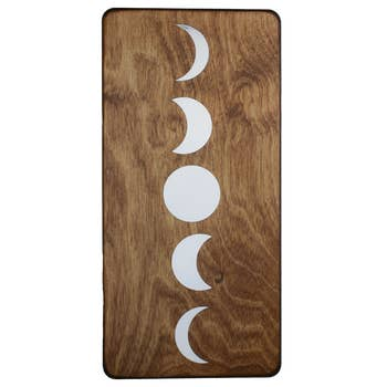 Moon Phases Wall Plaque