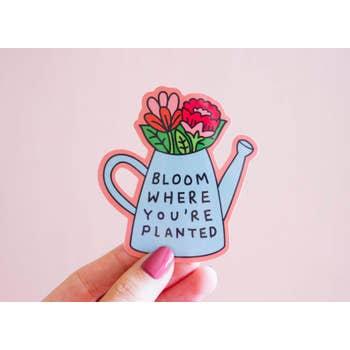 Bloom Vinyl Sticker