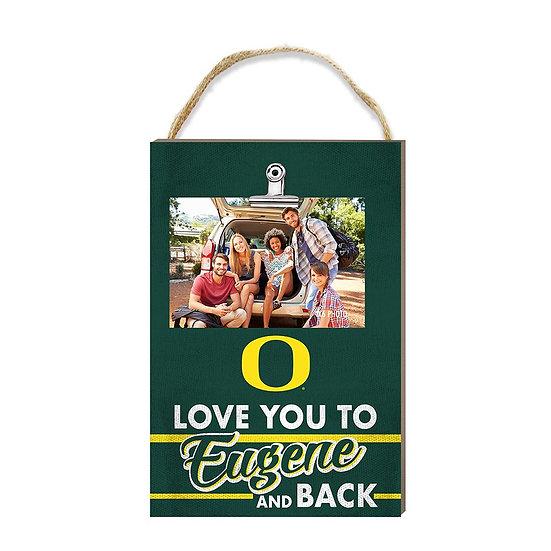 Oregon Ducks Hanging Clip Photo Frame Love