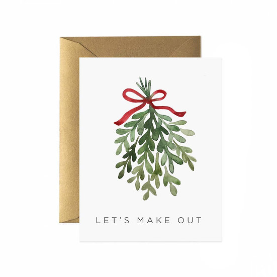 Let's Make Out Greeting Card