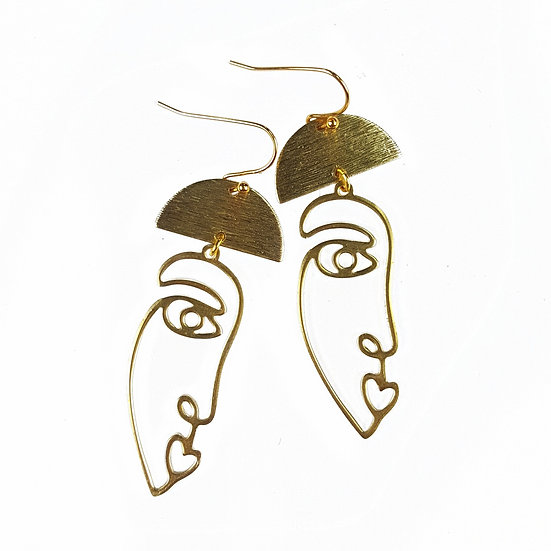 Fabulina Designs - The Dahlia Earrings