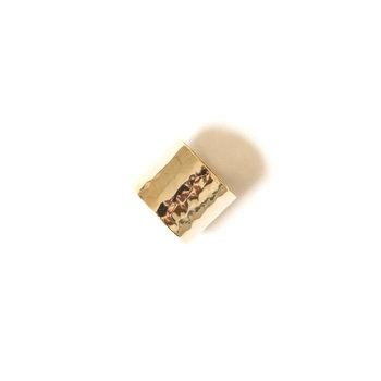 Cigar Band Ring - Size 8