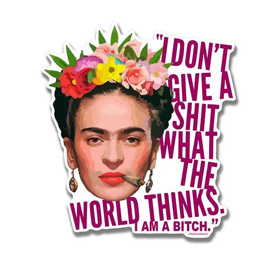 Frida Kahlo Bitch Sticker