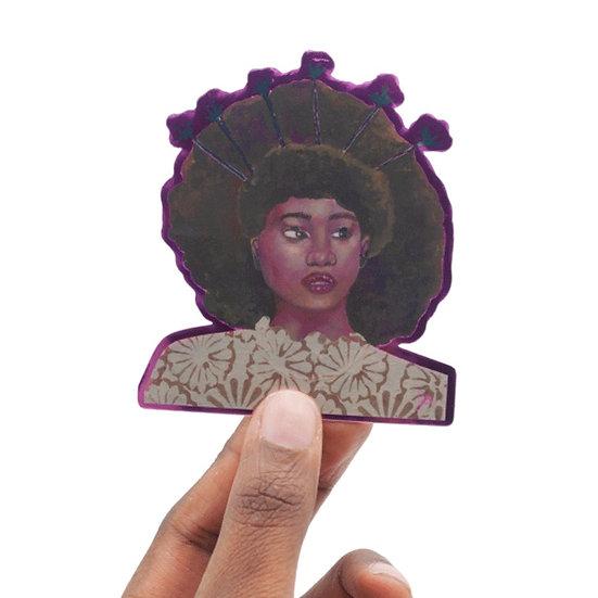 Portrait V Art Sticker