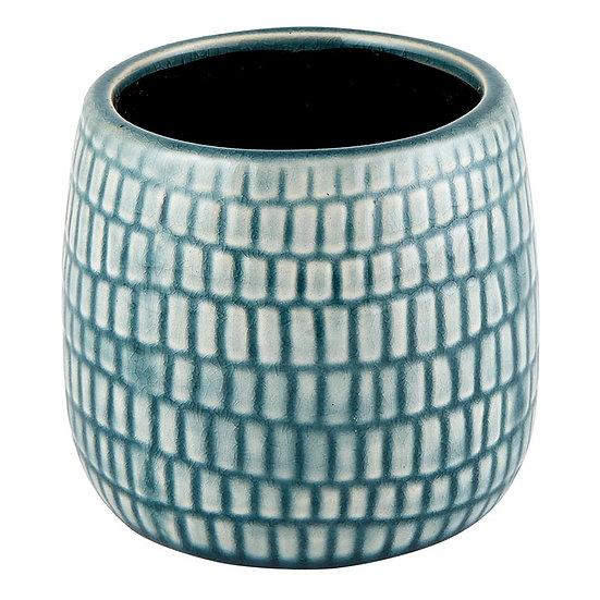 Cream & Gray Planter Pot - Small