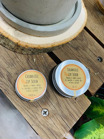 Fox Hollow Creamsicle Lip Scrub